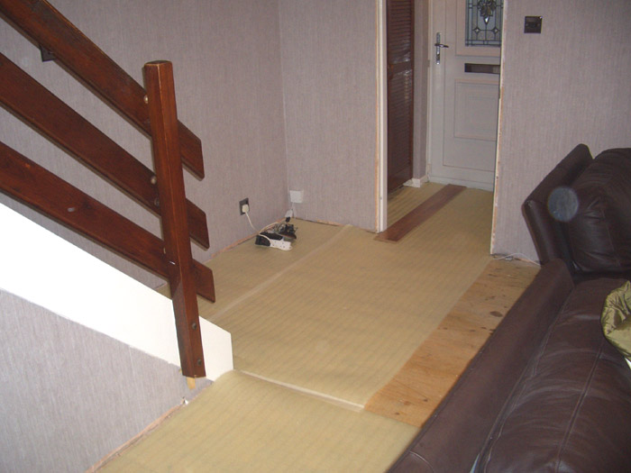 wooden flooring installation image 1