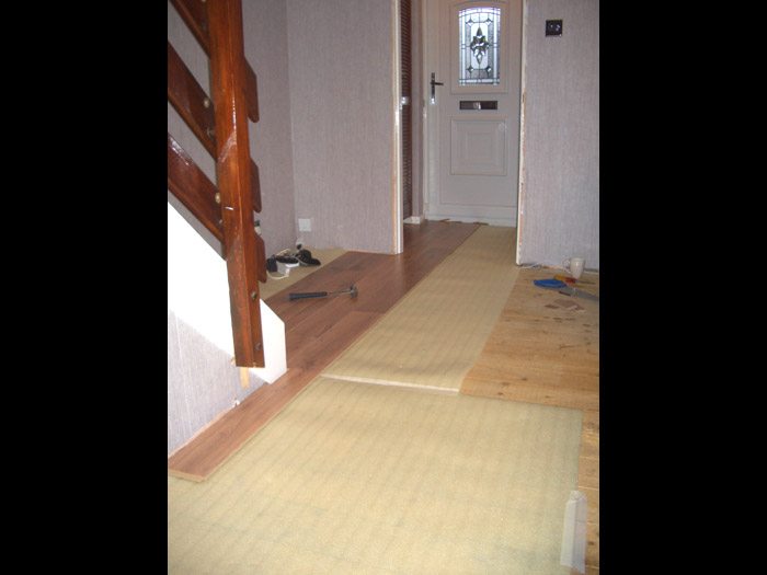 wooden flooring installation image 2