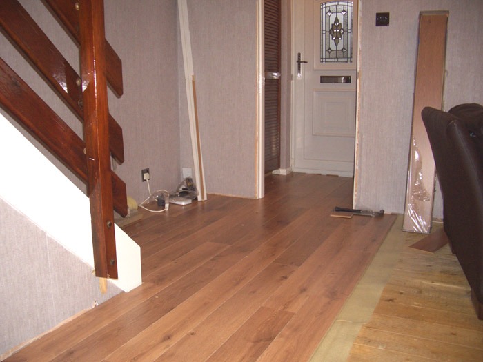 wooden flooring installation image 3