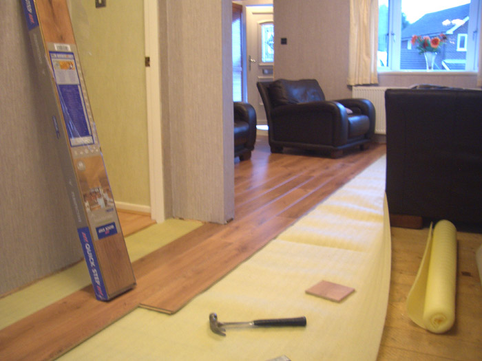 wooden flooring installation image 4