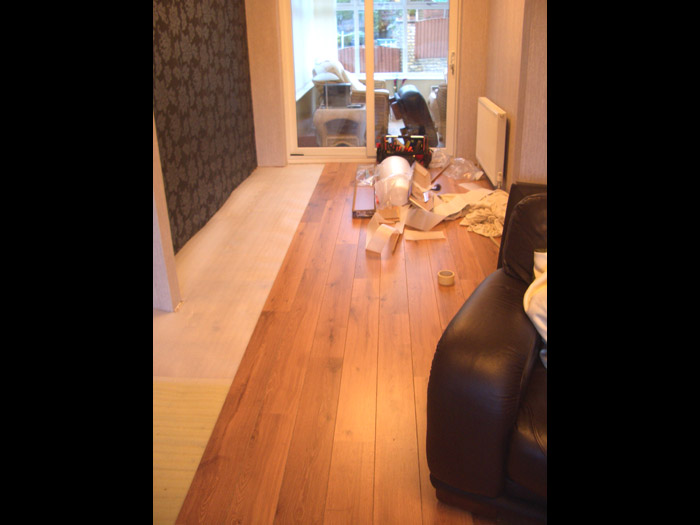wooden flooring installation image 5