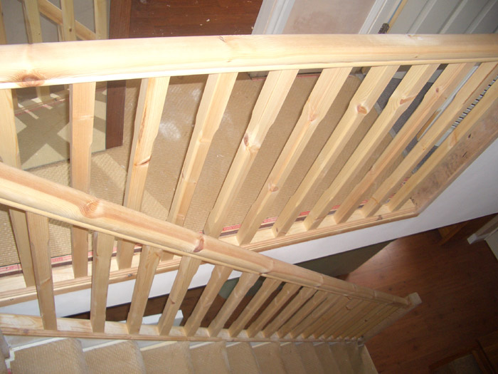 stair handrail replacement image 1