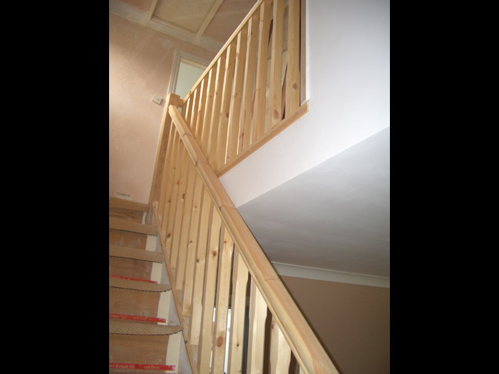 stair handrail replacement image 3